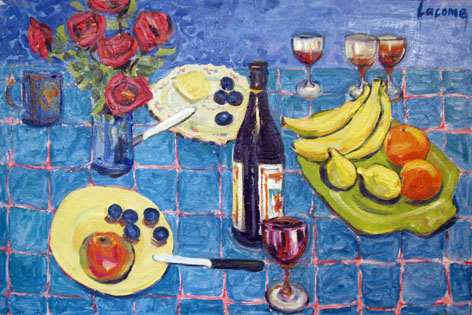 Picture of Summer Table by Myer Lacome