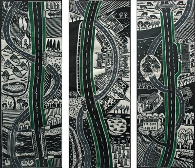 Picture of Old Road, New Road by Jane Hyslop