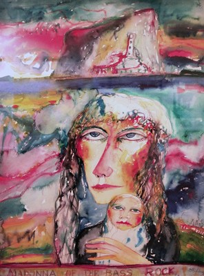 Picture of Madonna of the Bass Rock by John Bellany