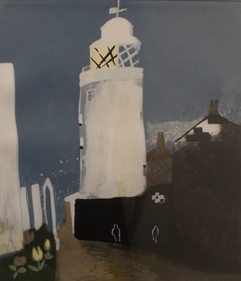 Picture of The Lighthouse by Mary Newcomb