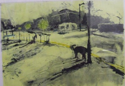 Picture of Lemonade Dawn in Leith by Artist Unknown