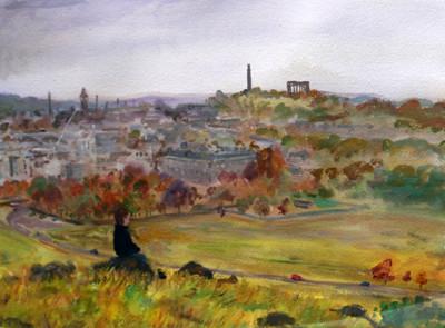 Picture of Autumn on Arthur's Seat by Henry Kondracki