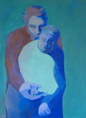 Picture of Mother and Son Series by Agamemnon Otero