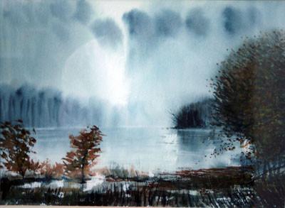 Picture of Landscape by C. Rex James