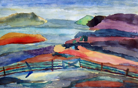 Picture of View from the Croft, Stomness by Miriam Vickers