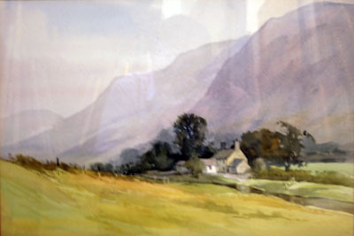 Picture of White Highland Farmhouse by David Byrne