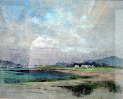 Picture of Coastal Scene by David Byrne
