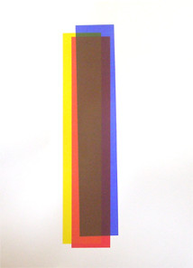 Picture of Colour Study (Blue, Red, Yellow III) by Gyl Rae