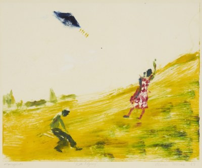 Picture of Kite Flying by Olivia Irvine