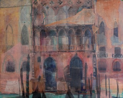 Picture of Venetian Facade by Catriona Mann