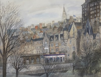 Picture of An Edinburgh View by Carola Gordon