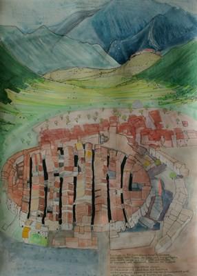 Picture of Castelvecchio Calviso by Janet Swailes