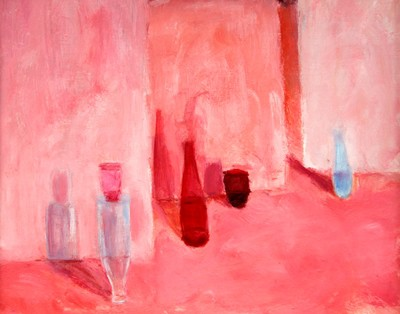 Picture of Veiled Interior with Vessels II by Karen Phipps