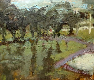 Picture of Small Inverleith Park 1 by Fred Crayk