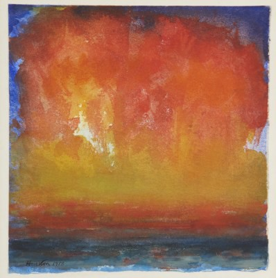 Picture of Sunset Sea by John Houston