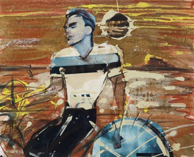 Picture of The Cyclist by Peter McLaren