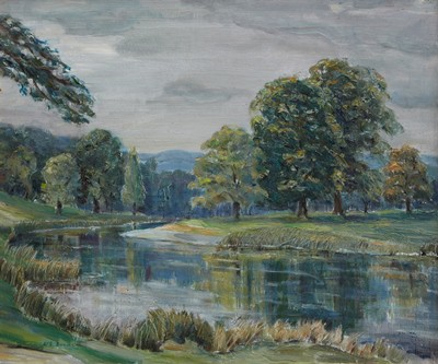 Picture of River Tweed Near Peebles by TG McGill Duncan