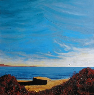 Picture of Coastal Defence, Aberdeen by Leo du Feu