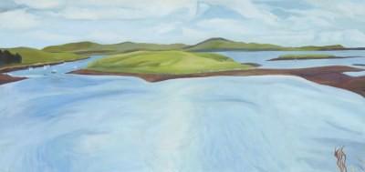 Picture of Sea Swirl, Loch Maddy by Carolyn Burchell