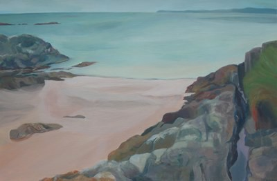 Picture of Camusdarach Beach by Carolyn Burchell