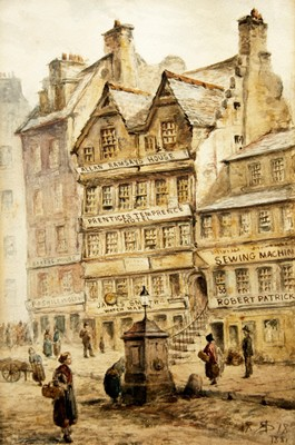 Picture of Allan Ramsay's House by Artist Unknown