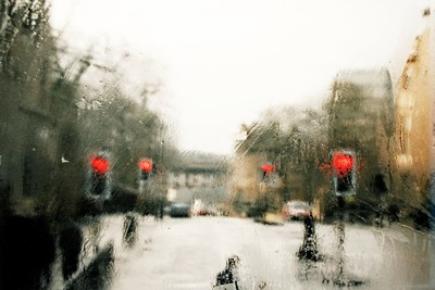 Picture of Glasgow In Rain by Vanessa Venwieser
