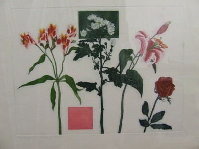 Picture of Fugue In Pink & Green by Cat Outram