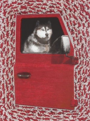 Picture of Huskies Private Pattern by Sara Ogilvie