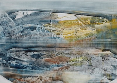 Picture of Mountain Images Rock Forms by Peter Barton