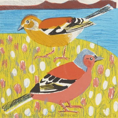 Picture of Island Chaffinches by Kittie Jones