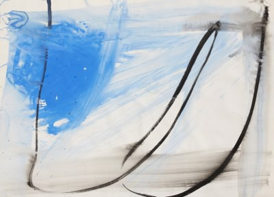 Picture of Brush Drawing No 28 by Clare Wardman