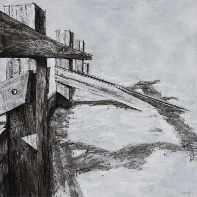 Picture of Breakwater Series No 3 by Lindsey Lavender