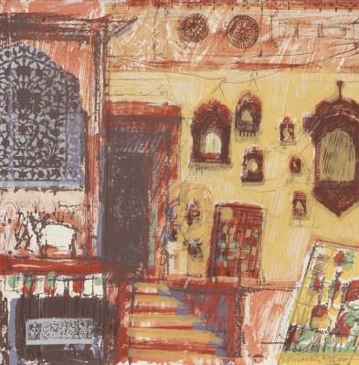 Picture of Frame Market, Jaisalmer by Jenny Martin