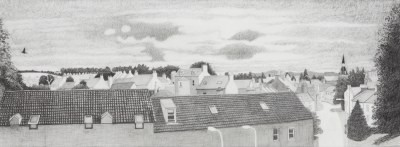 Picture of Heaven, Earth and Rooftops by Alison Philp