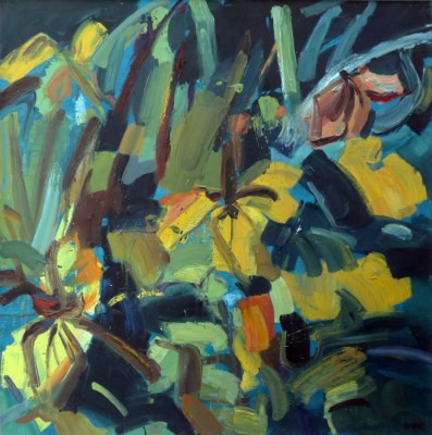 Picture of Yellow Leaves, Culzean by Shona Barr