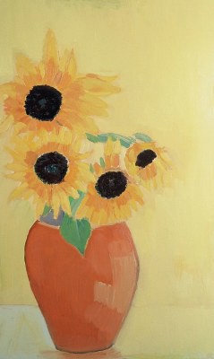 Picture of Sunflowers in Sunshine by Carrie-Anne Thomson