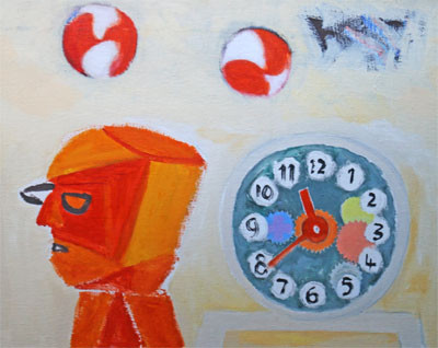 Picture of Tick Tock by David Michie