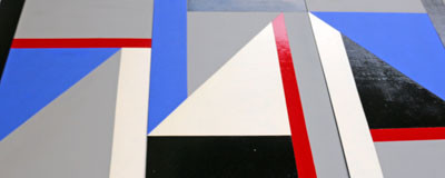 Picture of Geometrich Triptych by John Melville Wilson