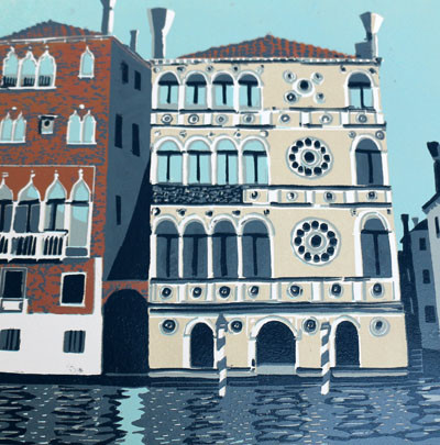 Picture of Palazzo Dario by Shirley Spottiswoode