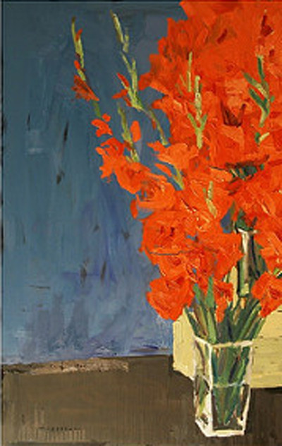 Picture of Gladioli by Stephen Cohn