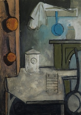 Picture of A Corner of the Kitchen by Ramsay McClure
