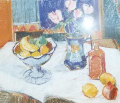 Picture of Table Still Life by Anne Mendelow