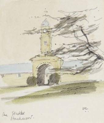 Picture of The Stables, Hackwood by Hugh Casson