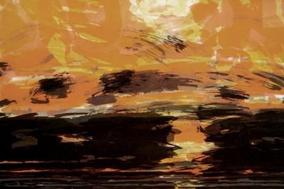 Picture of Dark Sunset by John Houston