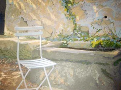 Picture of La Chaise Blanche by Judith Rothchild