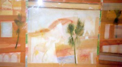 Picture of Visit to Fatehpur Sikri by William Baillie