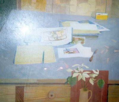 Picture of Studio Table by Gordon Cameron