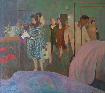 Picture of The Visitors by Gordon Cameron