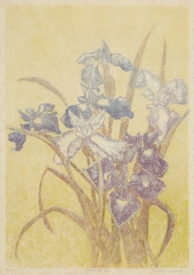 Picture of Summer Irises by Gladys McAvoy