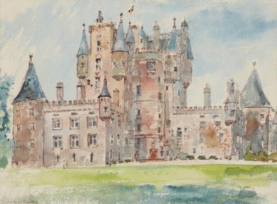 Picture of Glamis Castle by Shirley Spottiswoode